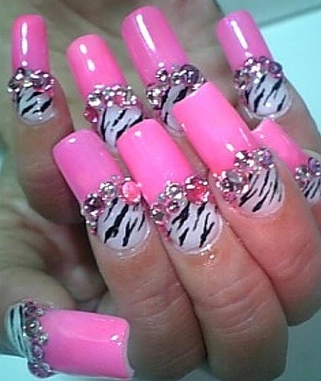 long fake nails