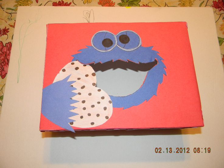 cookie monster valentines day stuffed animal