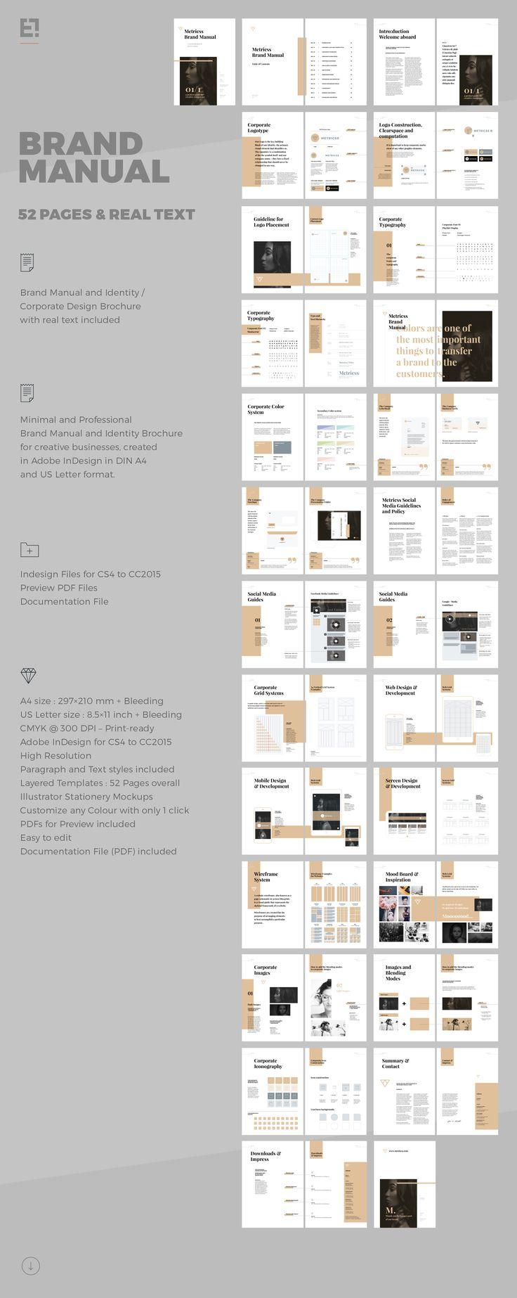 letter size brochure template - 25 best ideas about brochure template on pinterest