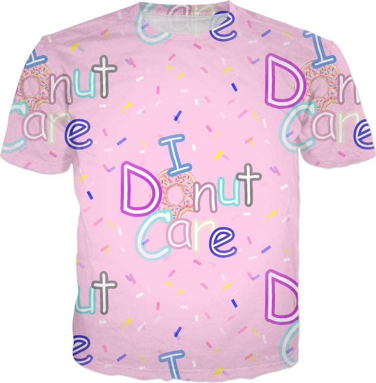 I Donut Care Pattern