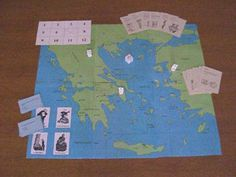 Free Digging Up Greece (a multi-level board game)