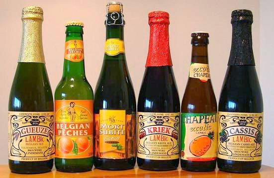 Lambic - Fruit Beer   ((singing)) These are a few of my favorite things...