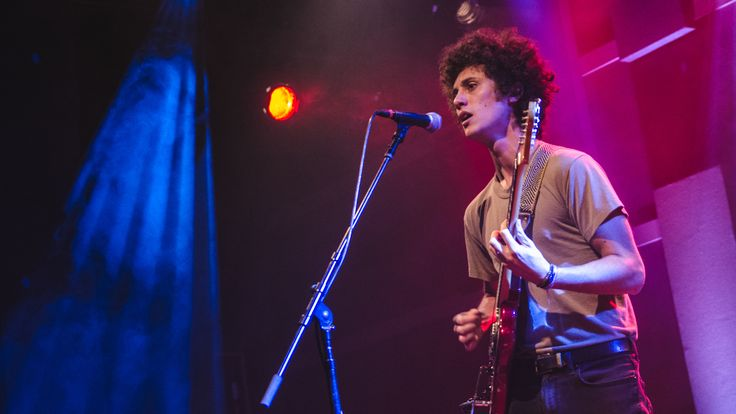 "Ron Gallo On World Cafe  The Philadelphian who recently relocated to Nashville has been working on a punk-influenced sound. Hear the session and watch Gallo perform ""Put The Kids To Bed."""