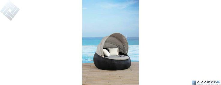 outdoor canopy day bed by luxox