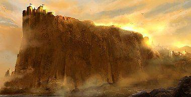 """Casa Lannister. Roca Casterly y Lannisport. EMBLEMA: un león de oro sobre fondo carmesí.  LEMA: """"¡Oye mi Rugido!"""" También se les conoce otro lema no oficial: """"Un Lannister siempre paga sus deudas"""".  UBICACIÓN: Al oeste de Poniente, la zona más occidental de los Siete Reinos, con sede en Roca Casterly."""