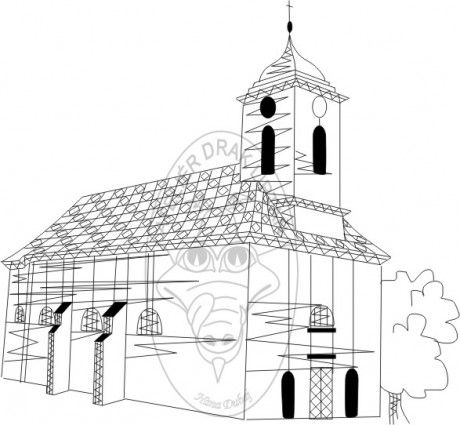 www.atelierdrak.estranky.cz - Fotoalbum - Počítačová grafika H.D. - Podvinky - Petrovice - kostel