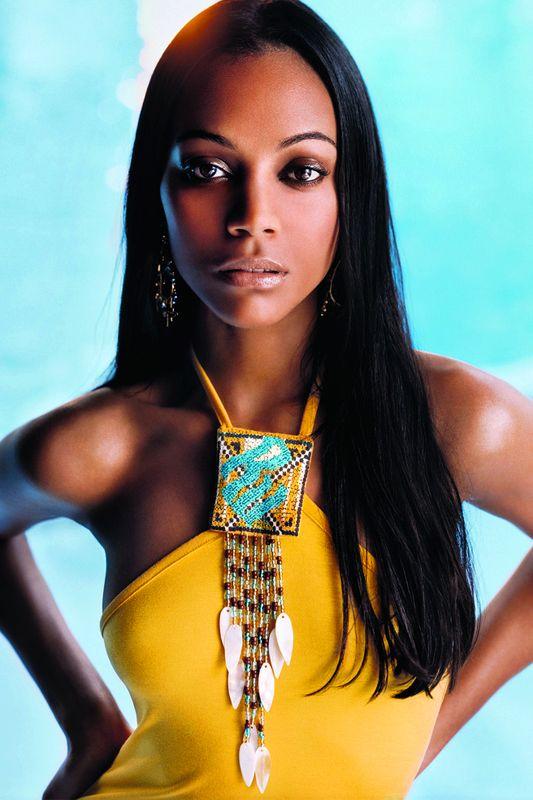 Zoe Saldana: Nubian queen