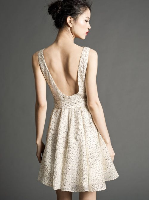 why are beautiful dresses ALWAYS so short?? i would love this and definitely buy it (someday) if it were knee length