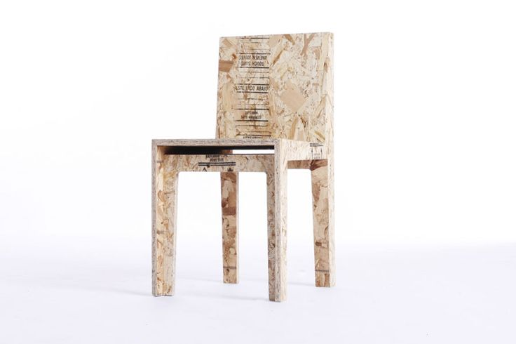 Chair Made Of Particle Board ~ Particle board furniture projects pinterest