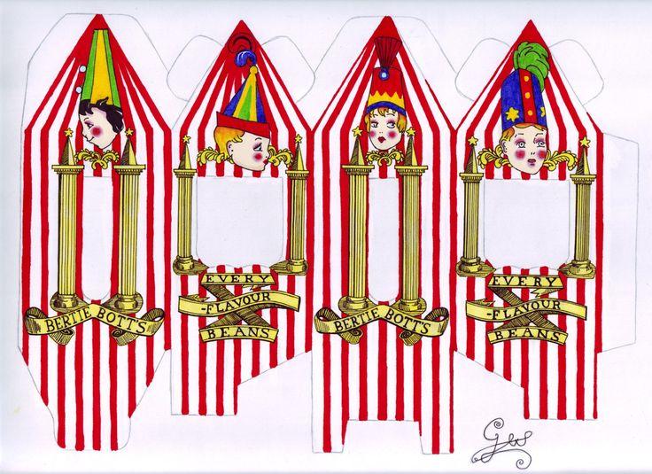 Bertie Bott's Beans coloured by GwendolynWolters.deviantart.com on @deviantART