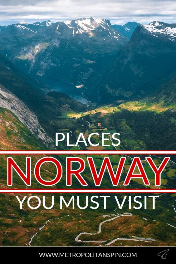 Visiting Norway? Check out these awesome places! #norway #europe #travel