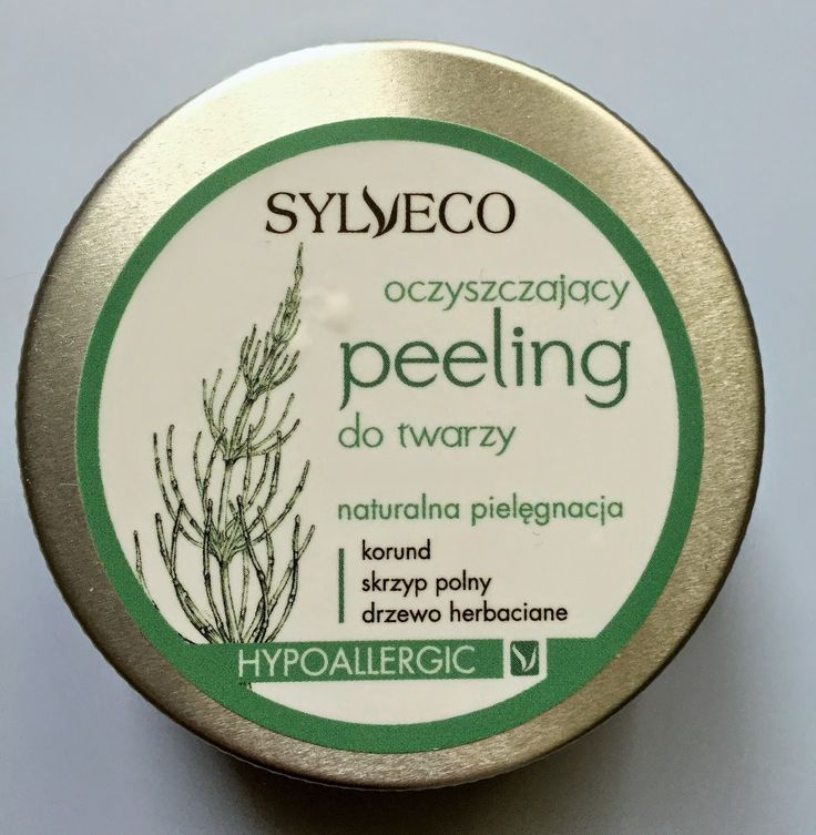 Czas dla Ciebie: Oczyszczający peeling do twarzy Sylveco