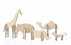 ferm LIVING Plywood Animals - Click to enlarge