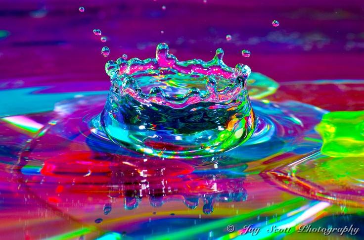 Splash of Colour by Jay Scott, via 500px