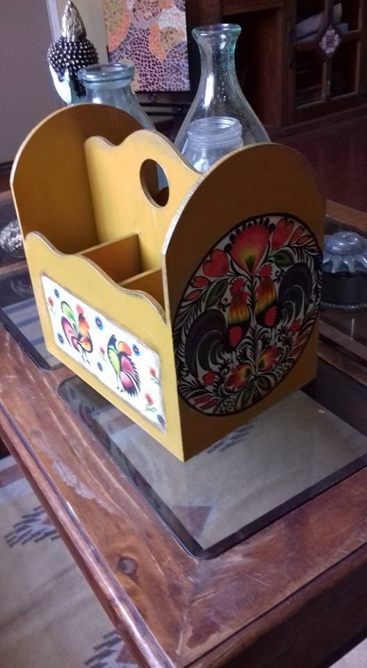 Porta utensilios Cocina Tema Mexicano