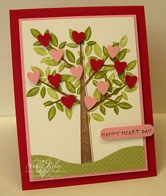 Stamps: Season of Friendship, sentiment from Happy Heart Day (retired) Paper:  Tall Tales DP, Real Red, Pretty In Pink, and Whisper White CS Ink:  Close to Cocoa and Old Olive Classic, Jet Black Staz-On Tools:  Word Window Punch, Heart to Heart Punch Supplies:  Stampin' Dimensionals