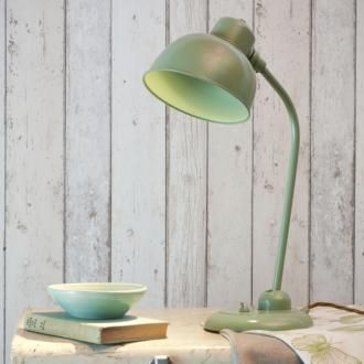 This handmade #Shaker #Green #desk #lamp is perfect for creating a soft #country style