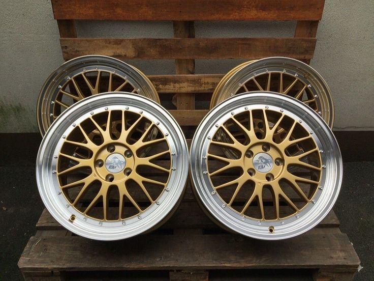 19 Zoll Ultra Wheels UA3 5x112 gold Gutachten für S4 S5 S6 R RS AMG Le Mans   eBay