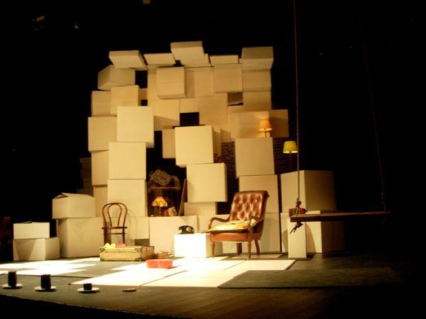"""""""De música i d'homes""""_Teatro Tantarantana - Realización escenográfica."""