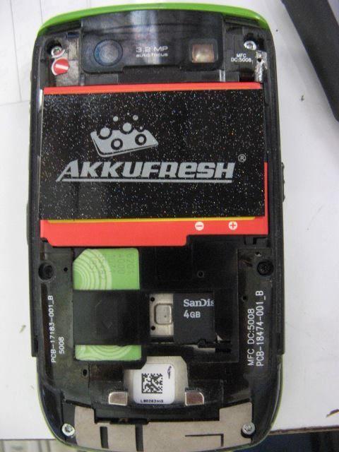 BlackBerry powered by AkkuFresh® Next Generation™ #akkufresh #battery #foil #phone #blackberry