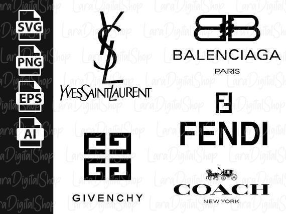 Coach Svg Balenciaga Brand Logo Fendi Ysl Yves Saint Laurent Givenchy Cricut Svg Eps Png Instant Download4350033 By Customizeds Brand Logo Fendi Svg