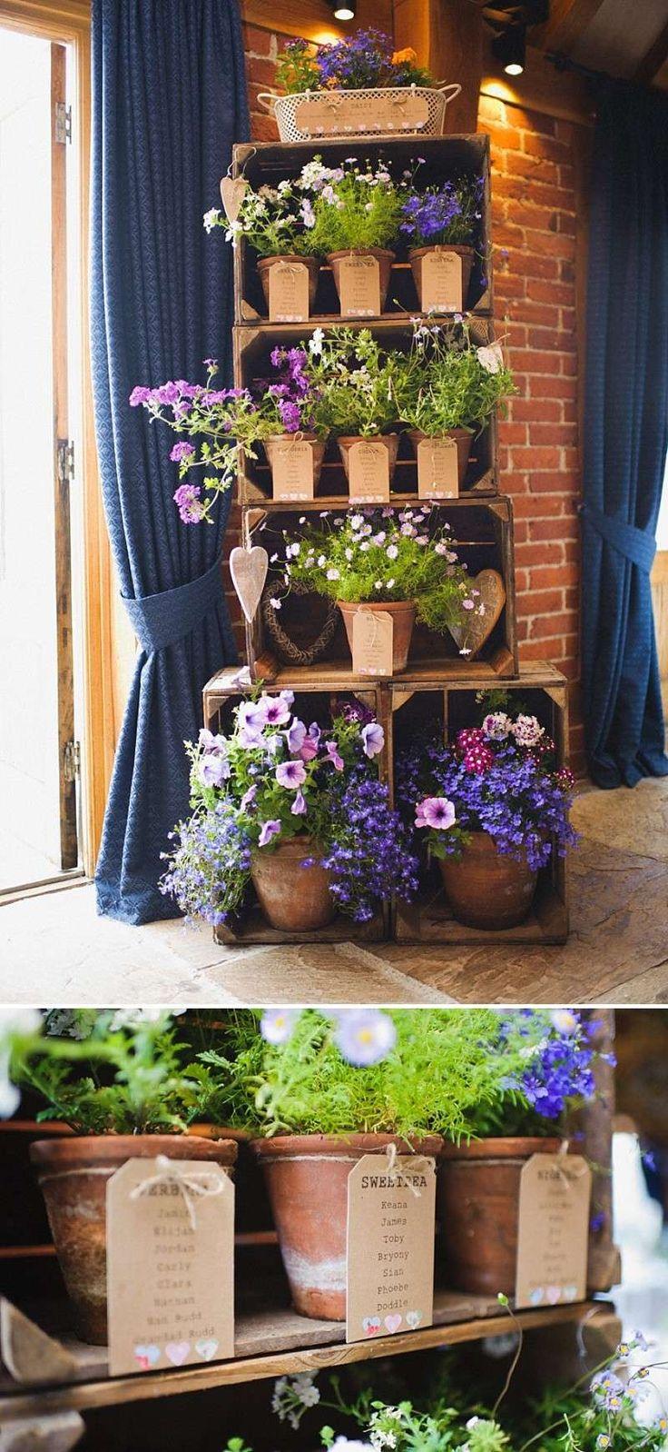 pour déposer les fleurs offertes lors d'une fêtes