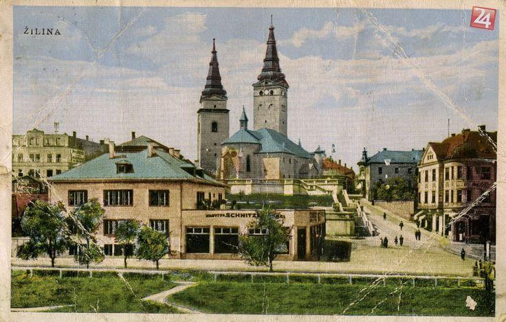 Farské schody Žilina