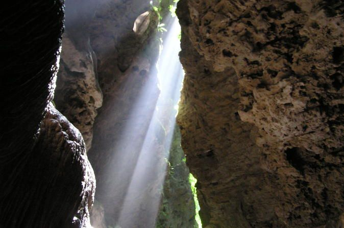Lake Bayano Cave Exploration Tour From Panama City 			Feel the adrenaline pumping through your veins as you walk deep into this underground river and start appreciating the most spectacular rock formations created by the hand of time. 					After a scenic drive from Panama City to a small indigenous community on the shores of Lake Bayano, you will take a small boat and navigate to the entrance of the caves. This lake is quite big and the landscape is dramatic, but the real adve...