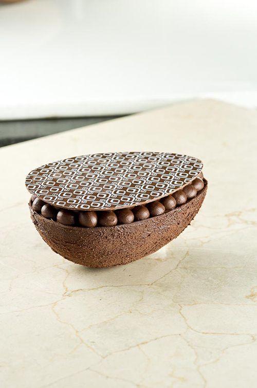 OVO DE PÁSCOA COM CREME DE AVELÃ | Receitas | Harald Chocolates e Coberturas – Brasil