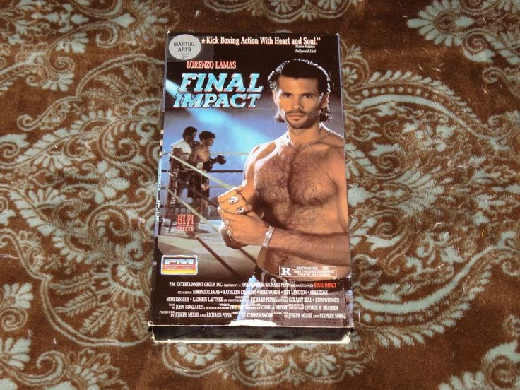 Final Impact (VHS, 1991) OOP SP-Mode PM! Lorenzo Lamas and His Very Hairy Chest!