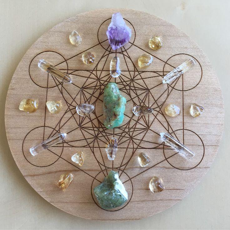 'Abundance' Crystal Grid