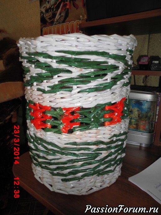 Большая корзина для бумаг
