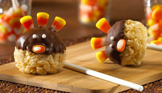 Turkey Pop Treats™ Recipe - Kellogg's® Rice Krispies®