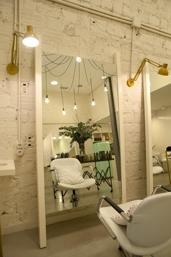 Our friends at SuBe used Plumen bulbs to great effect in their interior design of salon La Morla - http://www.subeinteriorismo.com/