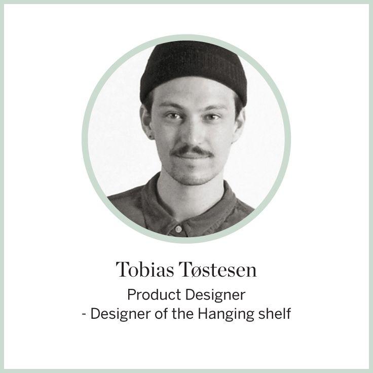 Designer Tobias Tostesen  #FLEXA #Designers #designerdeproduit #art #kids #Shelf