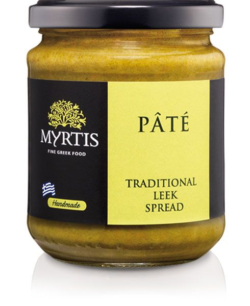 Myrtis Leek Spread uses a delicious blend of fresh leek and lemon juice making this soft and creamy spread ideal to serve as a dip or on freshly baked bread. Perfect in sandwiches, salad dressings or as a sauce for barbecued meats and cutlets.