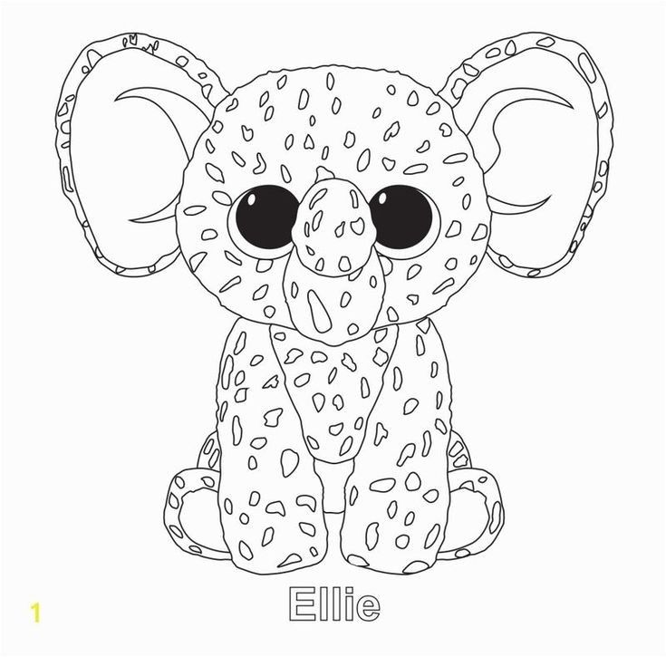 Beanie Boo Coloring Pages Bunny Beanie Boo Birthdays Coloring Pages Beanie Boo Party