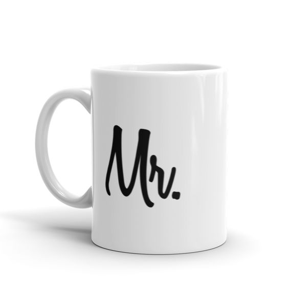 Mr Mug  #beanandjean This sturdy white, glossy ceramic mug is an essential to your cupboard. This brawny version of ceramic mugs shows it's true colors with quality assurance to withstand heat in the microwave and put it through the dishwasher as many times as you like, the quality will not be altered.  • Ceramic • Dishwasher safe • Microwave safe • White, glossy