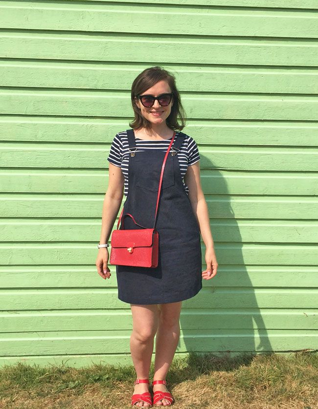 Tilly's Cleo pinafore - sewing pattern from Tilly and the Buttons