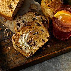 All-Bran® - Pain à l'orange, aux canneberges et aux noix (à la levure) - machine à pain