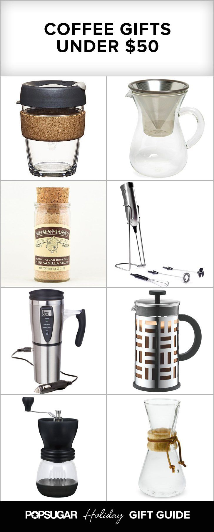 Gifts for coffee-lovers under $50!                                                                                                                                                                                 More