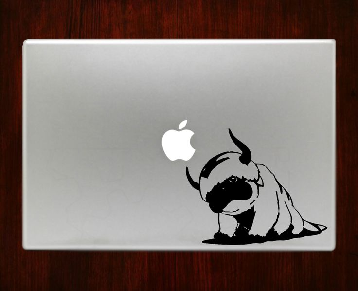 Avatarappaairbender decal sticker vinyl for macbook pro air 13 inch 15