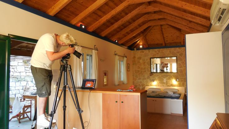 Family Tower Studio - sleeping area — at Zakynthos