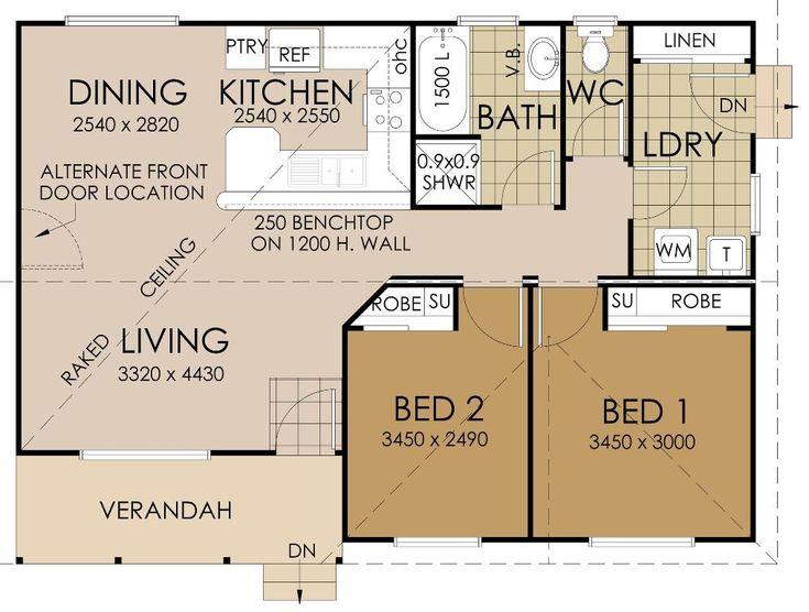 Retirement Series The Chippendale Floor Plan | House Plans | Pinterest |  Open Living Area