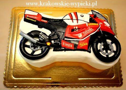 Tort motor z Cukierni Krakowskie Wypieki