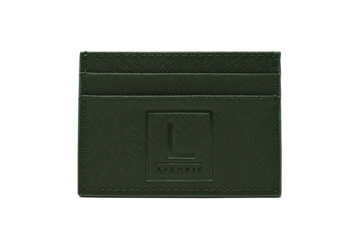 Laconic Style Credit Card Holder – DK. Green