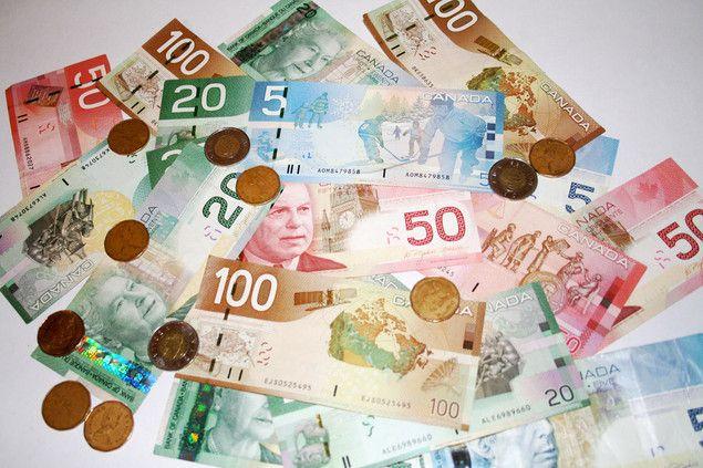 Colourful money
