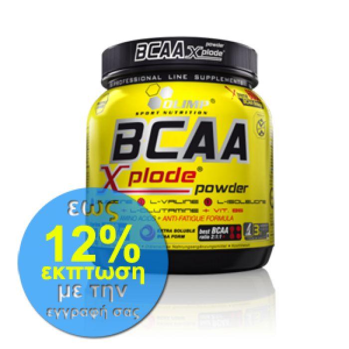 Το BCAA Xplode της Olimp είναι ένα τέλειο και σύνθετο προϊόν που περιέχει τα αμινοξέα L-λευκίνη, L-βαλίνη και L-ισολευκίνη, σε αναλογία 2: 1: 1.   Δοκιμάστε το από τα Megaproteinstore σε μοναδική τιμή!  #bcaa #aminoacids #supplements