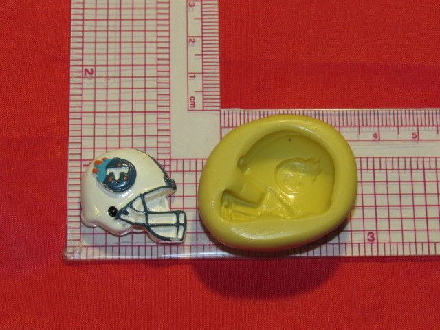 NFL Football Tennessee Titans Helmet Silicone Push Mold 335 Chocolate Candy #LobsterTailMolds