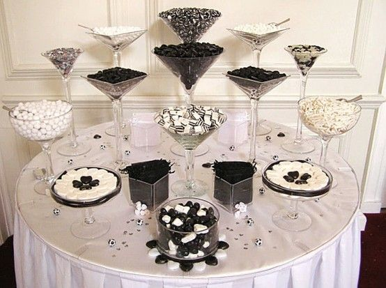 image of Chic Candy Table  ♥ Wedding Favor Ideas